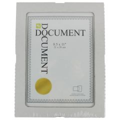 Kiera Grace Document Frame Nuvo Clip 8.5 X 11 In
