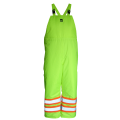 Open Road Insulated Overall Pants Yellow Large