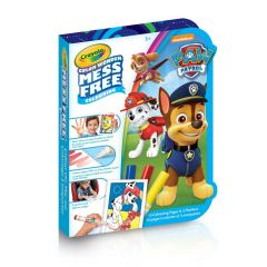 Crayola Paw Patrol On-The-Go Colour Wonder Colouring Kit