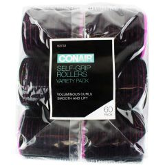Conair Self Grip Hair Rollers 60Pk