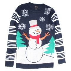 Guilty Knitwear Striped Holiday Sweater