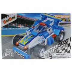 BanBao Eagle Pull-Back Action Super Car 125 pcs