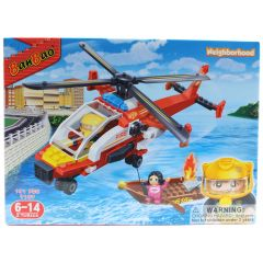 BanBao Rescue Fire Chopper 191 Pcs