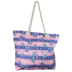 Beach Tote Bag Pink