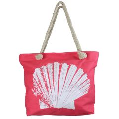 Beach Tote Bag Coral