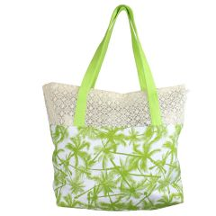 Beach Tote Bag Green