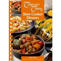 Company's coming Slow Cooker Dinners Cookbook
