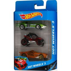 Hot Wheels 3 Pack Assorted Cars