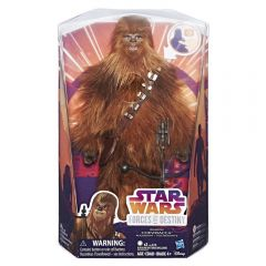 Star Wars Forces Of Destiny Deluxe Chewbacca Roaring Adventure Figure, Brown