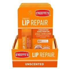 O'Keeffe's Lip Repair Unscented Lip Balm