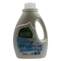 Seventh Generation Free & Clear Natural Laundry Detergent 1.47L
