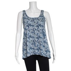 2 Dye 4 Ladies Print Knit Tank Top