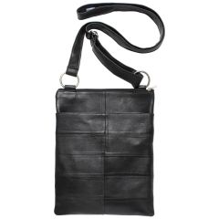 Champs Leather Handbag Black Assorted