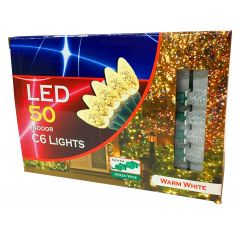 Christmas Lights 50 LED Warm White