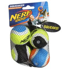 Nerf Dog Squeakers Tennis Balls 4Pk