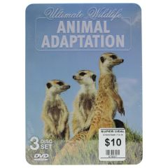 Ultimate Wildlife Animal Adaptation DVD 3 Disc Set