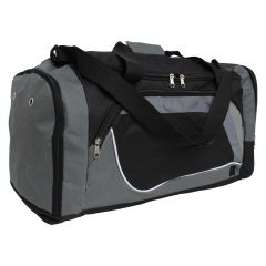 Duffle Bag Black & Grey