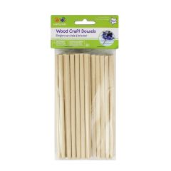 Krafty Kids Wood Dowel 6 inch