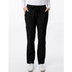 Green Town 4 Flex Collection Scrub Pant Black