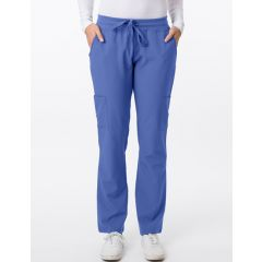 Green Town 4 Flex Collection Scrub Pant Ciel Blue