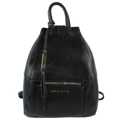KGB Backpack Style Purse Black