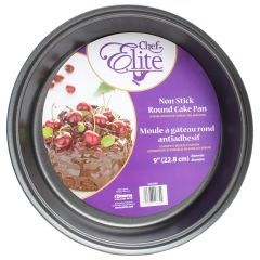 Chef Elite Nonstick Cake Pan Round 9in