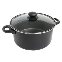 Nonstick Casserole With Glass Lid 5qt