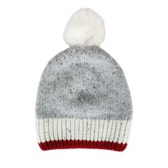 Fits Wool Pom Pom Toque Grey