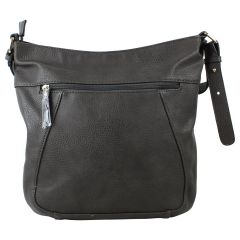 KG&B Studios Hobo Cross Body Bag Grey