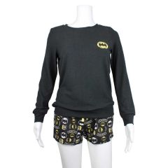 Batman Pajama Shorts and Top 2 Piece Set