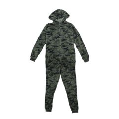 Vintage 514 Hooded Fleece Jumpsuit Camouflage
