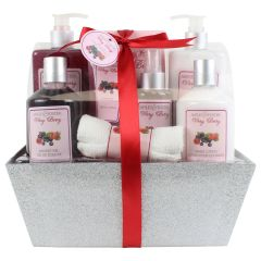 Ashley & Foster Very Berry Holiday Bath Gift Set