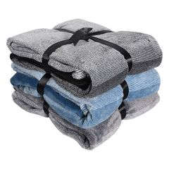 Home Essentials Ombre Flannel Decor Throw 50 x 60in