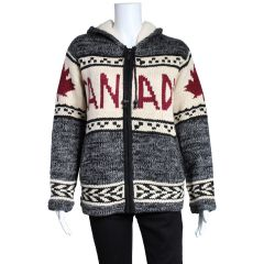 Canada Fleece Lined Zip Up Jacket
