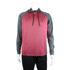 Rawlings Raglan Long Sleeve Sweater Red