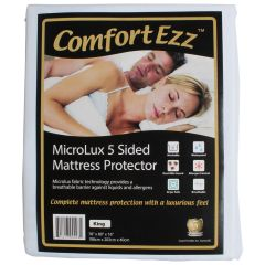 ComfortEzz Microlux 5 Sided Mattress Protector King
