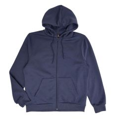 Men's Zip Front Fleece Hoodie