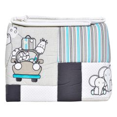 Trois Moutons Infant 5 Piece Crib Set Grey