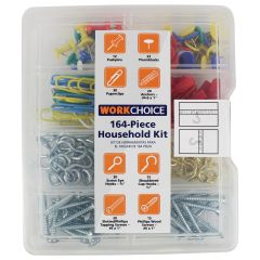 Work Choice Household Kit 164Pc