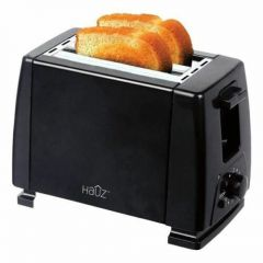 Hauz Toaster 2 Slices 750W Black