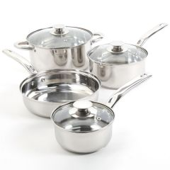 Sunbeam Ansonville Stainless Steel Cookware Set 7Pc