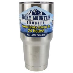 Rocky Mountain Stainless Steel Thermos Tumbler 30oz
