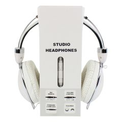 Nakamichi Studio Headphones White
