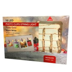 Christmas Photo LED Light Clips