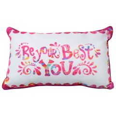 Be Your Best You Cushion