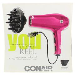 Conair YOU Reel 1875 Watt Tourmaline Ceramic 2-in-1 Styler and Hair Dryer