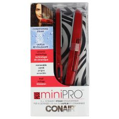 Conair Mini Pro 3/4 inch Ceramic Steam Straightener