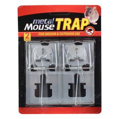 Metal Mouse Trap 2Pk