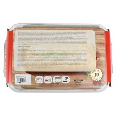 Vicrila Rectangle Glass Baking Dish 2.7 l