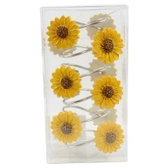 Daisy Shower Hook 12 Pack